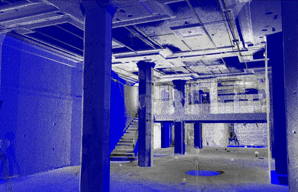 Laser Scanning Elevator Shafts