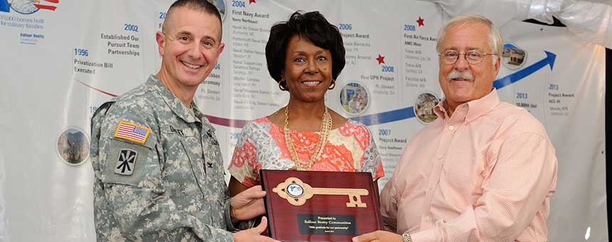 10,000th Military Housing Unit Fort Bliss