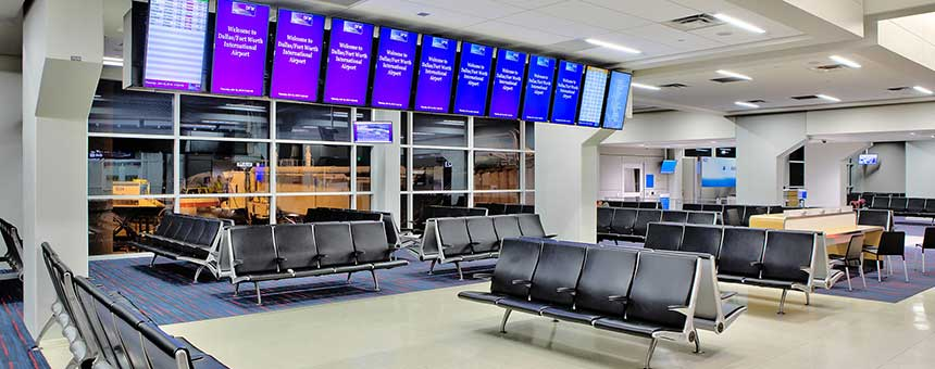 Dallas Fort Worth DFW Airport Renovation