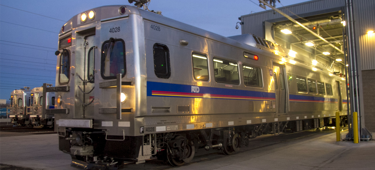 Eagle P3 Commuter Rail
