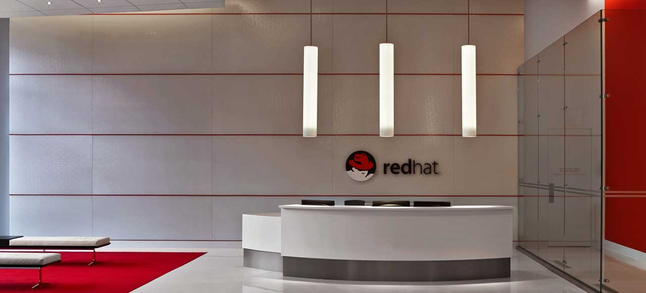 Red Hat Corporate Headquarters Raleigh, NC Welcome Reception Area Waiting
