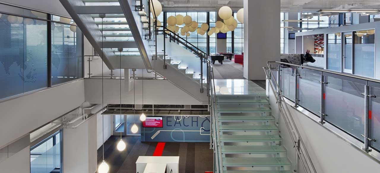 Red Hat Corporate Headquarters Raleigh, NC Two Floors