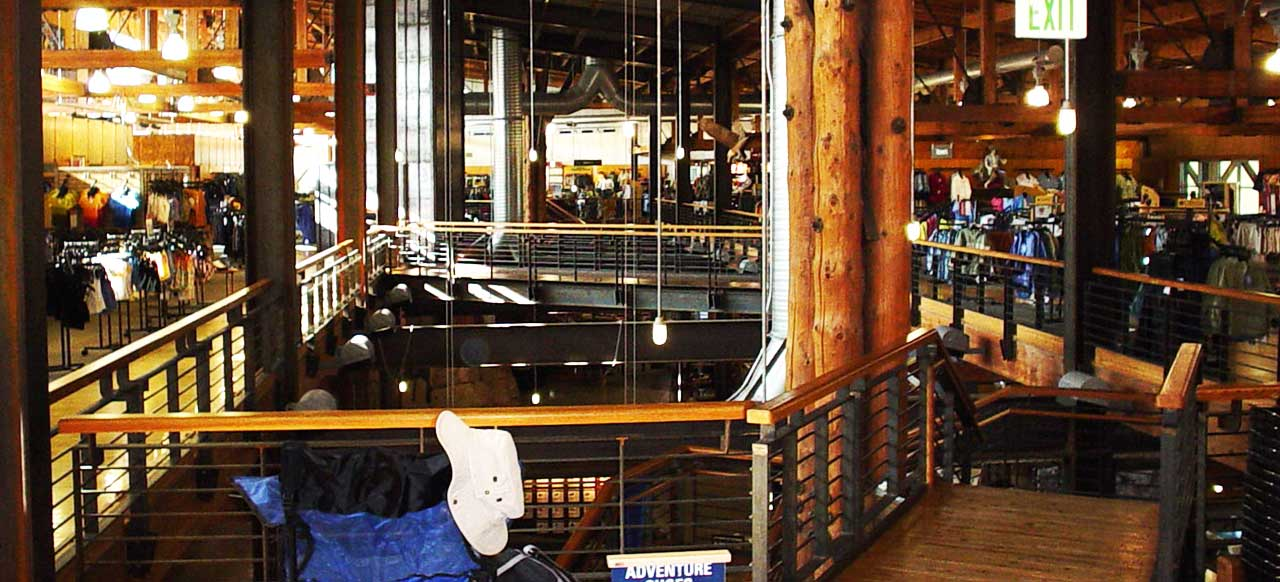 REI Interior Second Floor