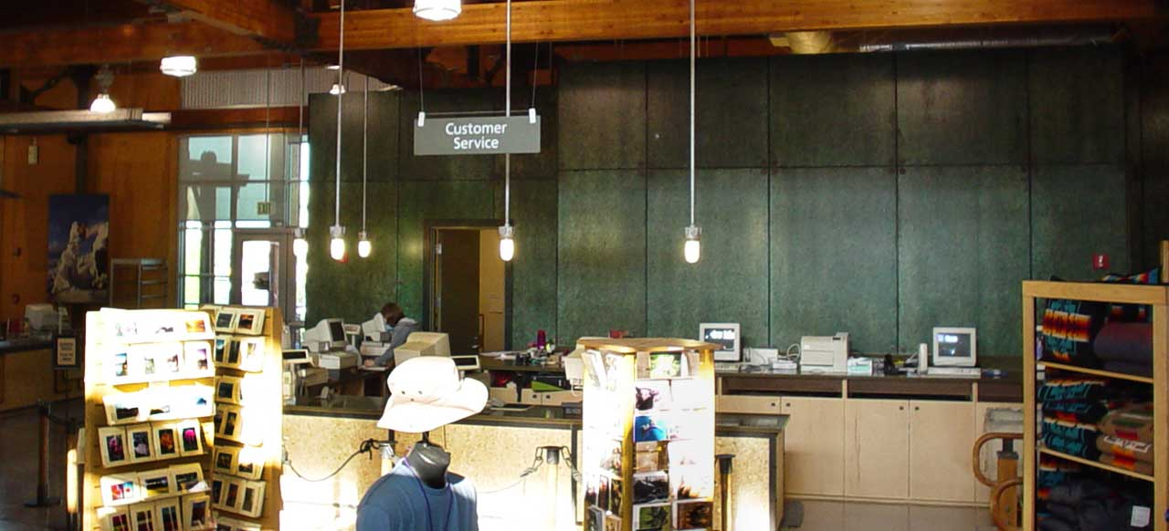 REI Customer Service Counter