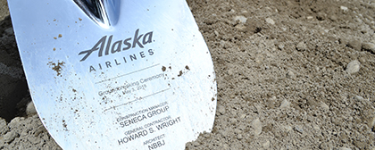 "New Alaska Airlines ""Hub"" Breaks Ground"